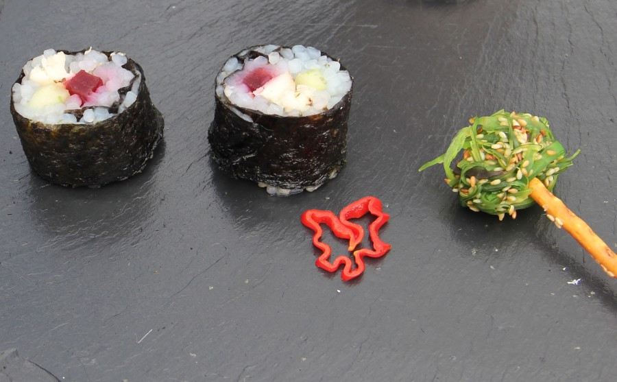 Sushi vom Grill...
