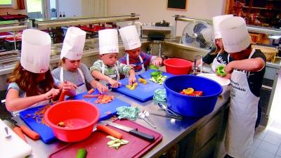 Kochschule für kinder