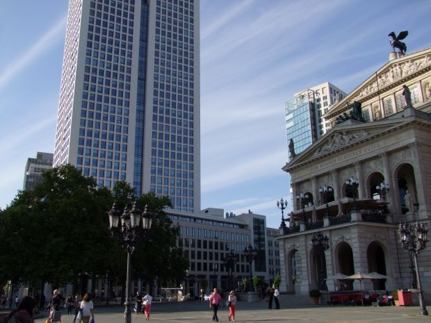 Opernplatz in Frankfurt am Main