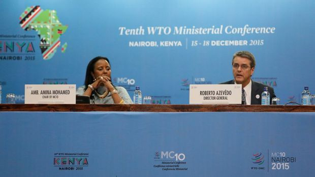 Tenth WTO Ministerial Conference in Nairobi.