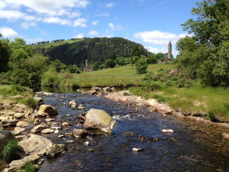 Glendalough in Irland.